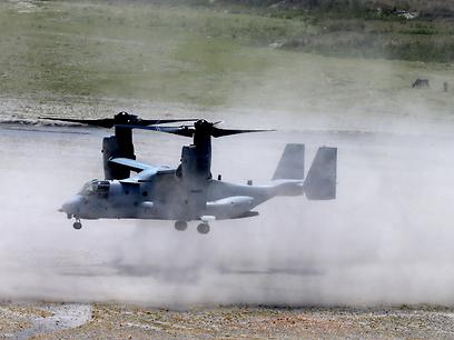 המטוס-מסוק V-22. מחוץ לכספי הסיוע (צילום: AP)