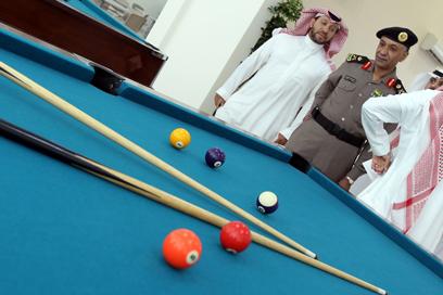 הטרוריסטים יוכלו ליהנות גם מאולם סנוקר מהודר (צילום: AFP)