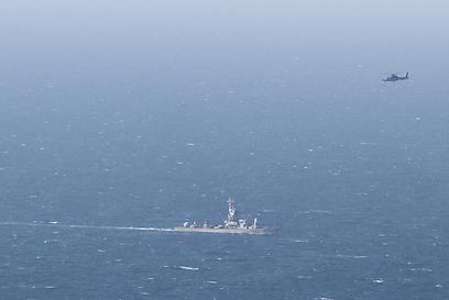 חיפושים מעל הים, אחר הצהריים (צילום: עידו ארז)
