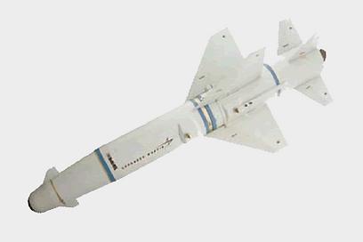 """טיל פופאי. טכנולוגיה בשירות חיל האוויר  (צילום: באדיבות רפאל מערכות לחימה מתקדמות בע""""מ)"""