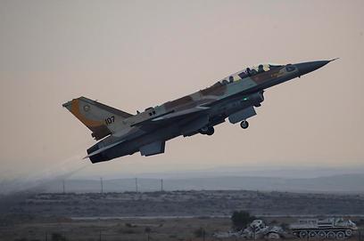 המטוסים הישראליים לא טסו מעל שדה התעופה (צילום: EPA)