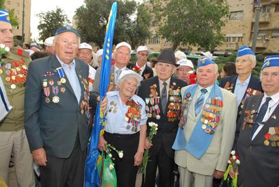 (צילום: ארטיום דגל, ארגון נכי המלחמה בנאצים)