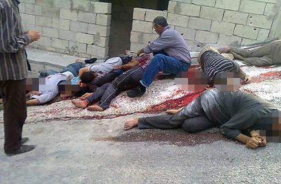 34,473 אזרחים נהרגו מאז מרס 2011 (צילום: AP)