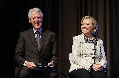 ביל קלינטון. חצי מיליון סיבות לחייך (צילום: MCT)