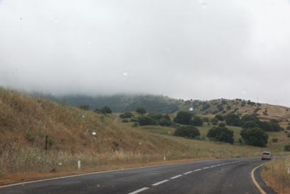 עננים בשמי הצפון, הבוקר (צילום: מוטי קמחי)