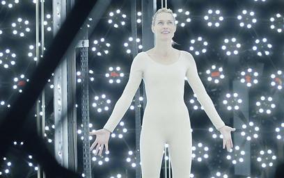 """רובין רייט ב""""כנס העתידנים"""". מותג או דמות? (צילום: ברידג'יט פולמן)"""