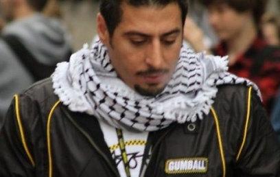 ראאד זידאן. הקדיש את ההישג לאסירים הפלסטינים