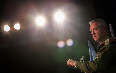 """הרמטכ""""ל היום. פוקח עין לא רק לסוריה (צילום: אבישג שאר-ישוב)"""