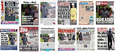 הסיפור שתפס את כל הכותרות הראשיות בבריטניה
