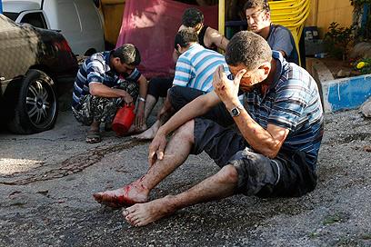 נפגעים בלבנון (צילום: רויטרס)