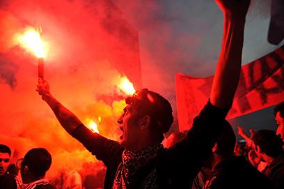 כיכר טקסים, היום (צילום: AFP)