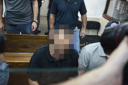 החשוד המרכזי ברצח (צילום: מוטי קמחי )