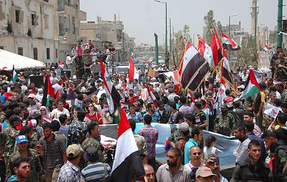 לרוב, ידם של המורדים על העליונה (צילום: רויטרס)