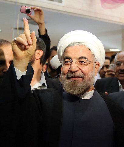 רוחאני. נבחר (צילום: AFP)