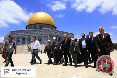 ראש הממשלה הפלסטיני בביקור