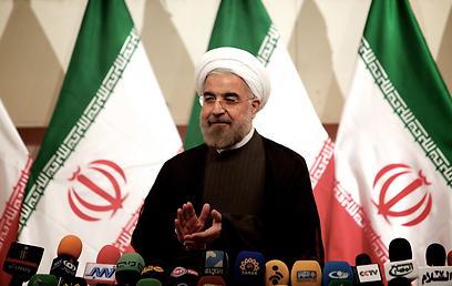 קרא לשקיפות איראנית בסוגיית הגרעין. רוחאני (צילום: AFP)