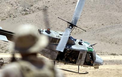 כוחות אמריקניים במהלך התרגיל בירדן, השבוע (צילום: AFP)