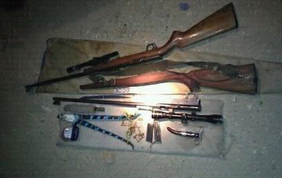 כלי הנשק שנתפסו. מעורר דאגה