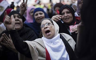 חשש מאלימות במהלך ההפגנות (צילום: AP)