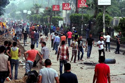 גם היום הרוגים ופצועים בהתפרעויות במצרים (צילום: AFP)