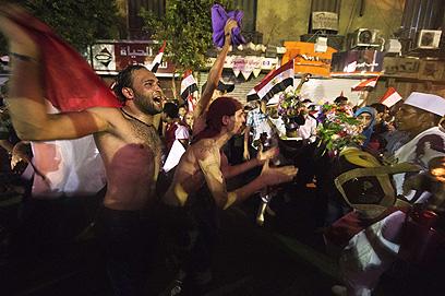 ריקודים ותופים לתוך הלילה (צילום: AFP)