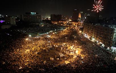 כיכר תחריר בקהיר. שוב מוקד התפרעויות (צילום: גטי אימג'בנק)