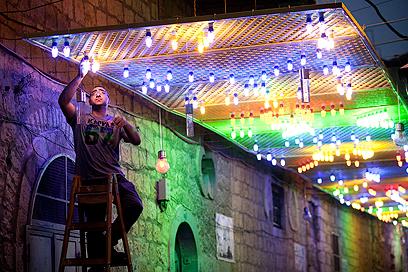 מסגד אל אקצה בירושלים (צילום: EPA)