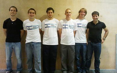 משלחת ישראל לאולימפיאדת מדעי המחשב (צילום: ליף שרקי)