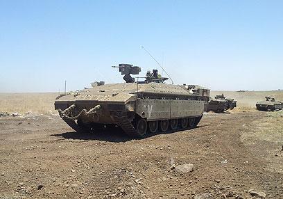 גדוד 51 בתרגיל. החיילים טענו כי התעמרו בהם (צילום: יואב זיתון)