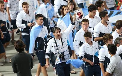 המשלחת הארגנטינאית (צילום: אורן אהרוני)