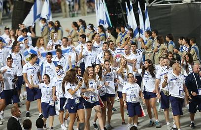 המשלחת הישראלית (צילום: אורן אהרוני)
