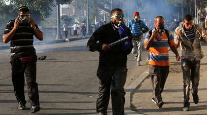 Clashes in Cairo (Photo: EPA)