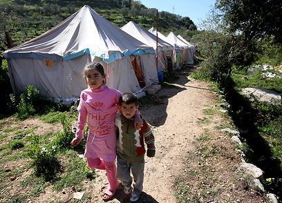 Syrian children in Lebanon (Photo: AP)