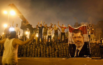 Morsi supporters protest in Cairo (Photo: Reuters)