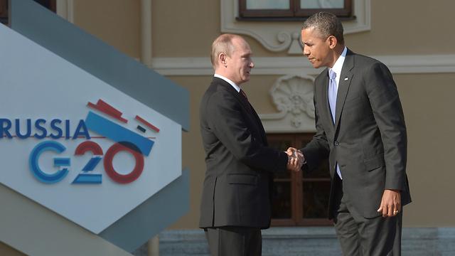 Putin, Obama at G20 (Photo: EPA)