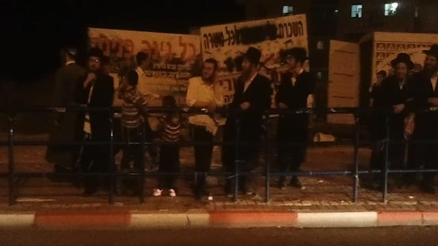 Eliyahu Shemesh: Beit Shemesh: Hundreds Rally Against Election Results