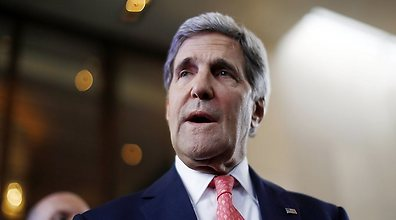 Kerry in Geneva (Photo: AFP)