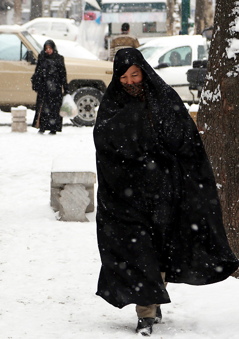 IN PICTURES: Iran Hit By Biggest Snowstorm For 50 Years