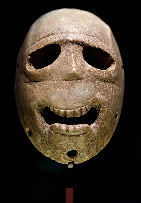 ancient masks go on display in jerusalem