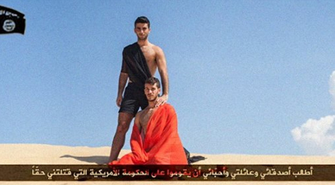 Gay party slammed for ISIS imagery
