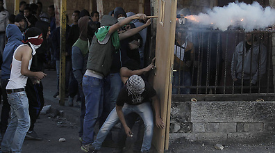Mass riots in East Jerusalem (Photo: Mohammed Shinawi)