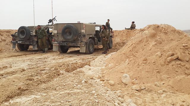 IDF shores up Egyptian border