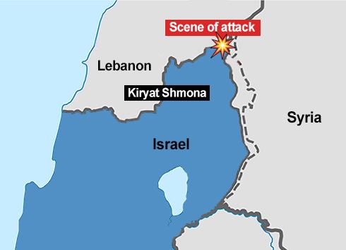 Risultati immagini per israeli fence syria hezbollah