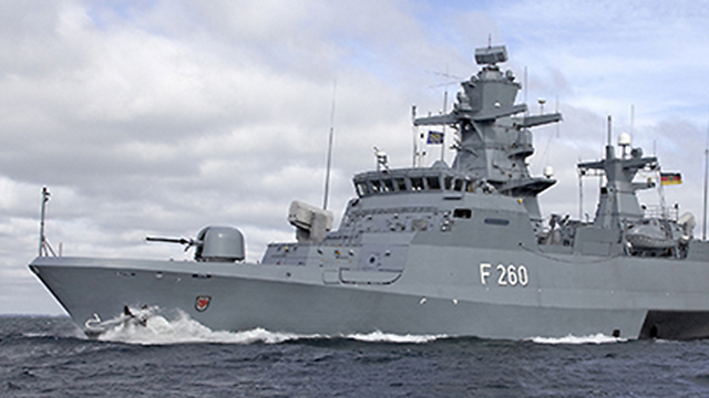 UAE-based company contracted to build warships for Israeli Navy