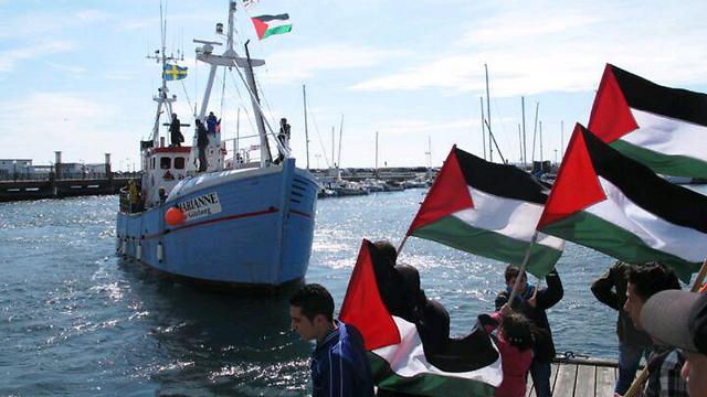 Israeli Navy preparing to take over Gaza-bound flotilla