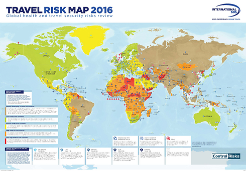 The worlds most dangerous travel destinations the travel risk map photo international sos gumiabroncs