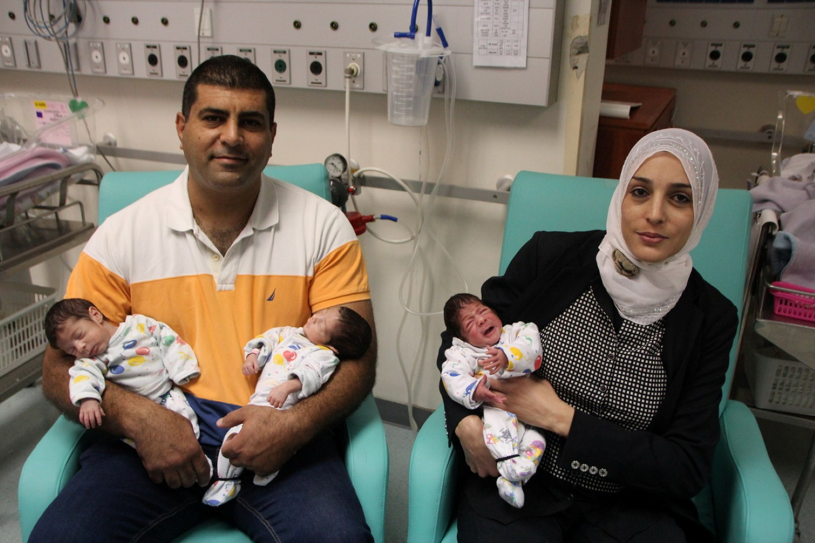 Anybody Home Baby Boy One Month Today: Triplets Born In Israel Against Odds Of 1 To 100,000