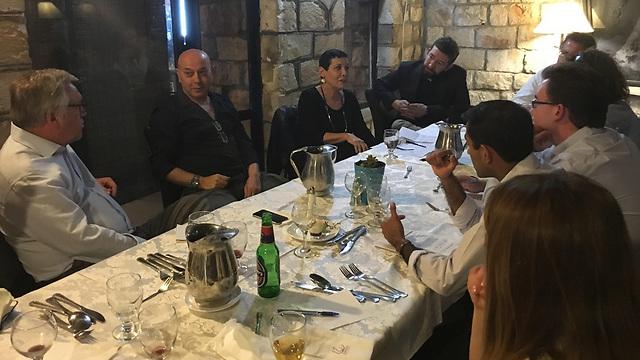 Smadar Haran tells her story, brings journalists to tears