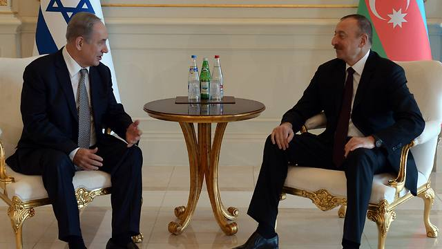 Image result for netanyahu and aliyev