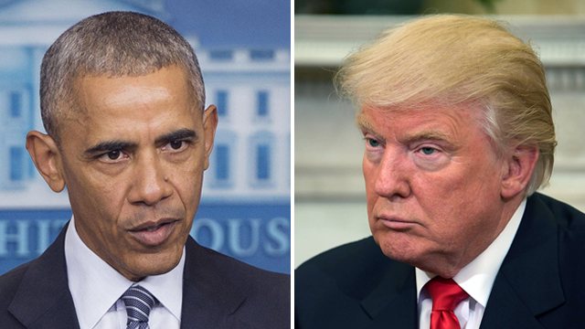 Trump tweets Obama had his phones wire tapped before ...